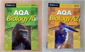 Biozone AS and A2 AQA Biology Student Workbooks