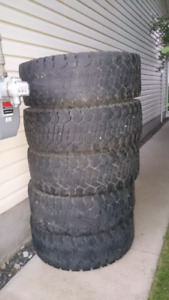 """Five 35"""" tires - $100 takes all"""