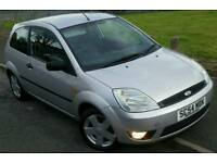 2004 54 REG FORD FIESTA 1.4 ZETEC 3DR, IN SILVER, MOT'D, SVC HISTORY, IDEAL 1ST CAR