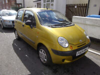 DAEWOO MATIZ 0.8 SE 2004 LOW MILES NEW MOT