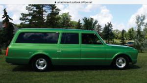 For sale 1970 camaro and 1969 suburban