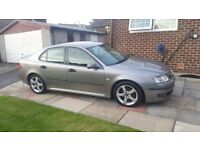 2006 Grey Saab 9-3 - Excellent condition, MOT'd & Full service history