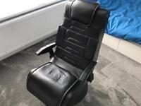 Xrocker wireless gaming chair.