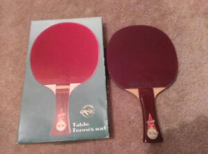Friendship double sided table tennis racket