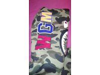 Camo bape hoodie