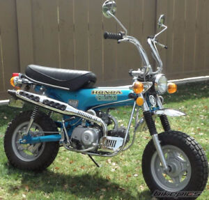 Wanted Motorcycle from the 70`s project and mini bike project