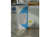 Bliss 10Lt Dehumidifier, only used once to help with drying out our a kitchen extention,