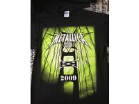 Metallica 2009 metclub t-shirt - very rare.
