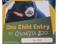 Colchester Zoo Ticket