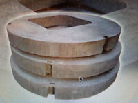 WANTED CONCREETE MANHOLE BISCUIT WITH 600 X 600 HOLE