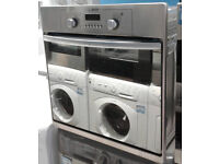 X215 stainless steel & mirror finish hotpoint electric oven comes with warranty can be delivered