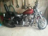 Harley Davidson Sportster Hugger XLH 883