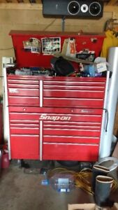 Snap On Tool Chest & Tools