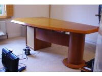 Executive Walnut Veneer Office Furniture