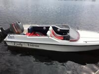 Driver 17 speed boat for sale