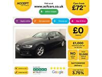 Audi A4 FROM £72 PER WEEK!
