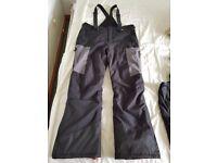 Ski suit salopette (large) 10000 K water resistant