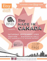 Etsy: Made in Canada Windsor