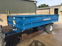 AS Marston DS5 5 Ton Drop side tipping trailer 2012, excellent condition
