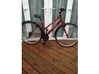 Ladies Metallic Red Apollo Bike Lovely Condition
