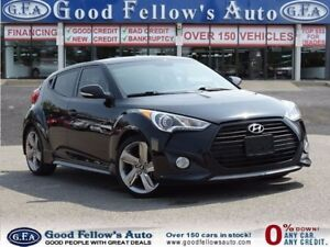 2015 Hyundai Veloster CPE, AUTO, 3DR, LEATHER, PANROOF, NAVI, CA