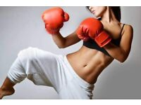 FREE kickboxing classes