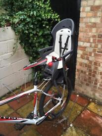 Hamax Plus child bicycle seat and carrier.