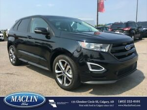 2016 Ford Edge Sport, Nav, Leather, Panoroof, Backup Cam