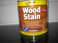Interior/Exterior Satin Rosewood Wood Stain 2.5LTR NEW