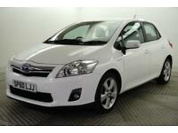 2010 Toyota Auris T4 PETROL/ELECTRIC white CVT