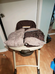 High chair and swing