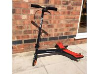 Razor powerwing caster scooter red/black
