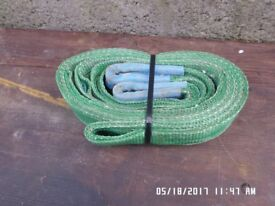 3 Mtr x 2 ton webbing lifting slings in good condition ,only used a few times ,