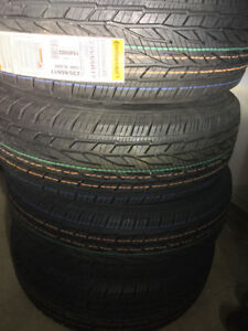 BRAND NEW ALL SEASON CONTINENTAL CROSSCONTACT TIRES