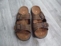 Men's Clarks leather Sandals
