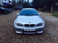 BMW M3 3.2 2005/55 COUPE SMG II IMOLA RED NAPPA HEATED MEMORY LEATHER SAT NAV/TV HARMONS!!