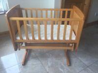 Baby Crib - Obaby Winnie the Pooh
