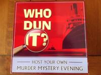 Who Dun It. Murder Mystery Game. 'The Porthole Affair'.