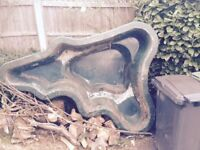 GRP Pond Liner- little used free to collect only