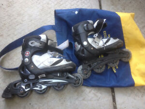 3 Kids Rollers 1-4 size , size 7 and Size 1 adult
