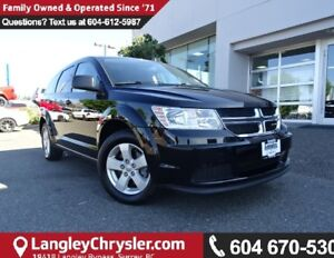 2014 Dodge Journey W/BLUETOOTH & 3RD ROW SEATING