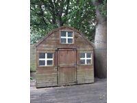 Dutch barn playhouse