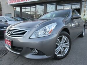 2012 Infiniti G37X  Luxury-AWD-CAMERA-PRM-PKG-LOADED