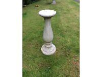 Antique Granite Garden Stand for Pot/Bird bath/Ornaments