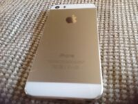 Gold colour Iphone5s fair to good condition