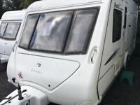 Elddis avante club 2009 model fixed bed touring caravan