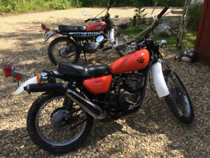 Rare old school enduros