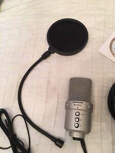 Samson G Track Microphone  & Pop Filter