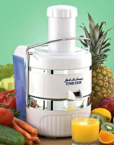 Uncomplicated Jack LaLanne Power Juicer