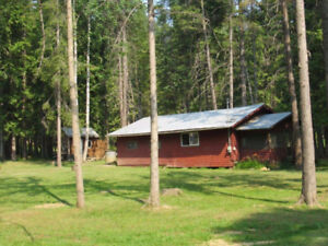 Mabel Lake, BC, cabin for sale